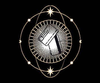 white icon tarot visa